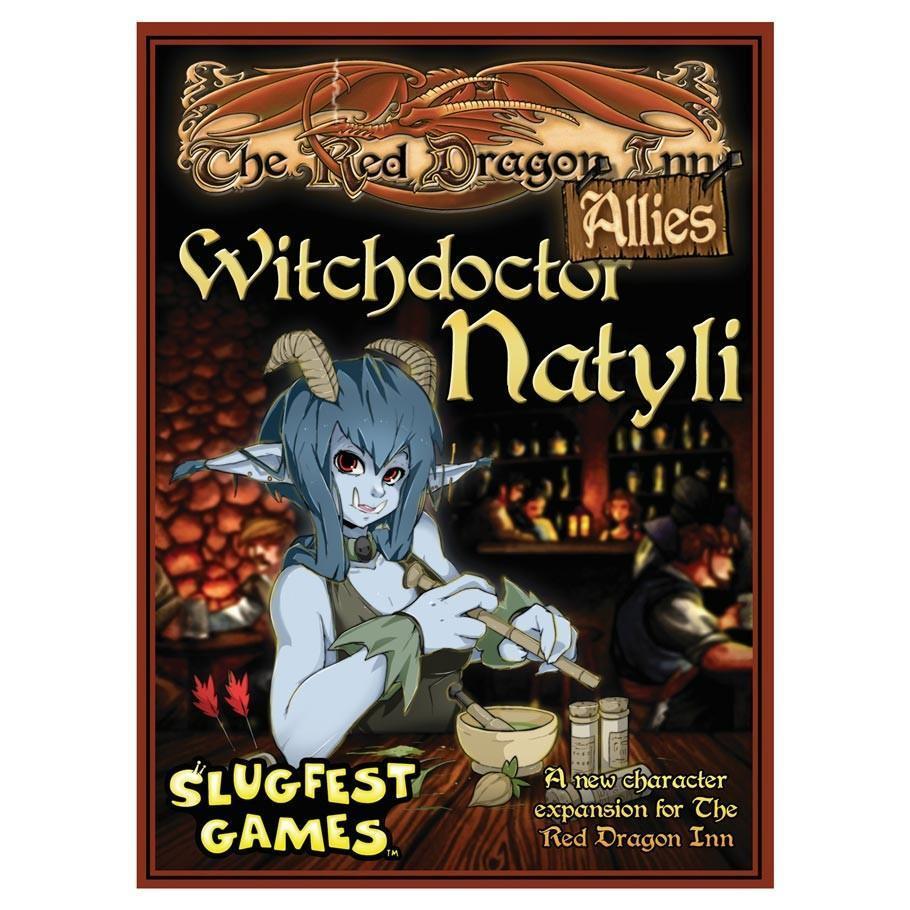 Slugfest: Red Dragon Inn Allies Witchdoctor Natyli Card Game