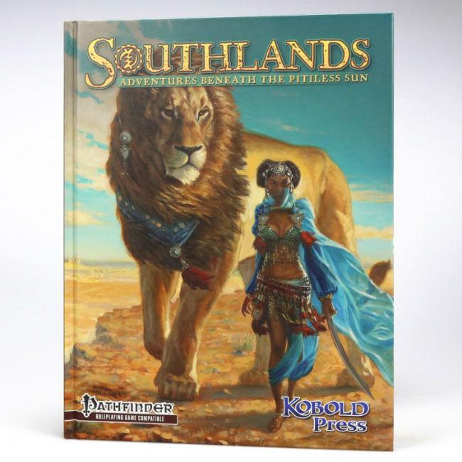 Southlands Adventures Beneath the Pitiless sun Role Playing Games Kobold Press