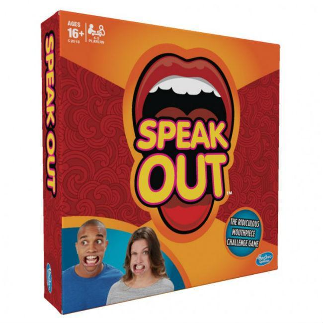 Speak Out Board Game Hasbro