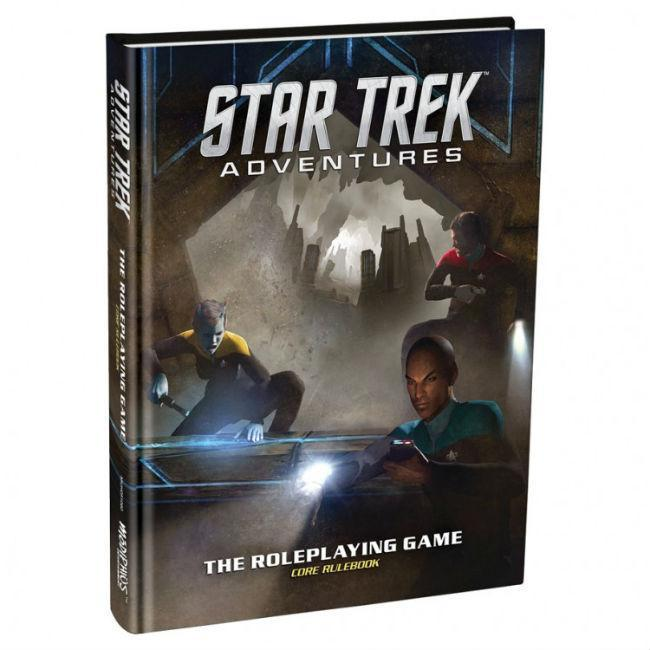 Star Trek Adv.: Core Rulebook Role Playing Games Modiphius Entertainment