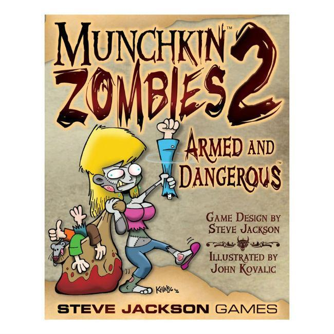 Steve Jackson Munchkin Zombies 2 Armed and Dangerous Card Game