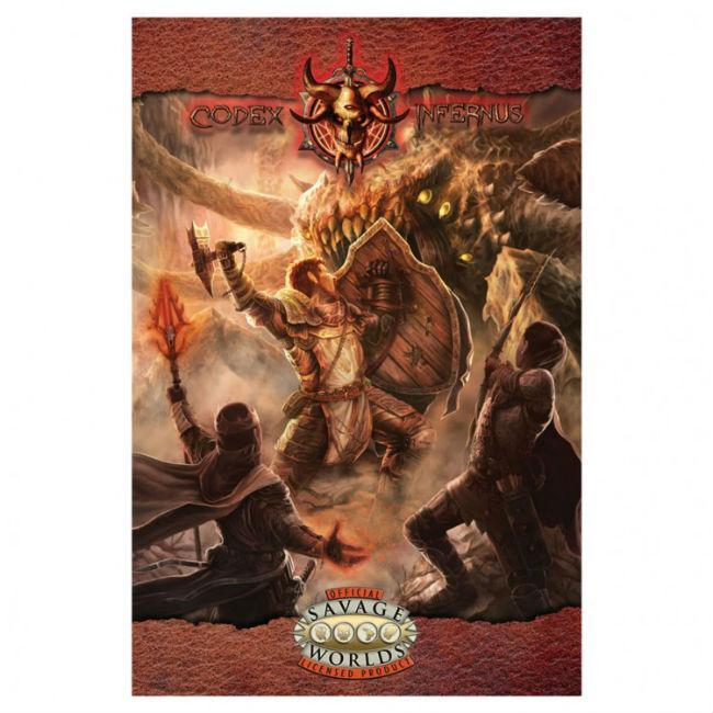 SW: Codex Infernus: Guide to Hell (SC) Role Playing Games Gun Metal Games
