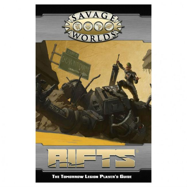 SW: Rifts: The Tomorrow Legion Role Playing Games Studio 2 Publishing