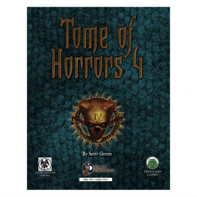 S&W: The Tome of Horrors 4