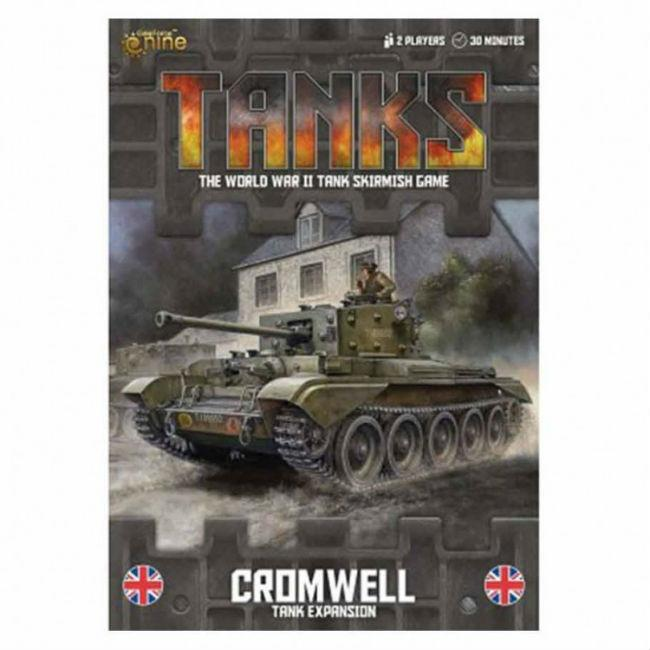 Tanks: British Cromwell Miniatures Gale Force 9