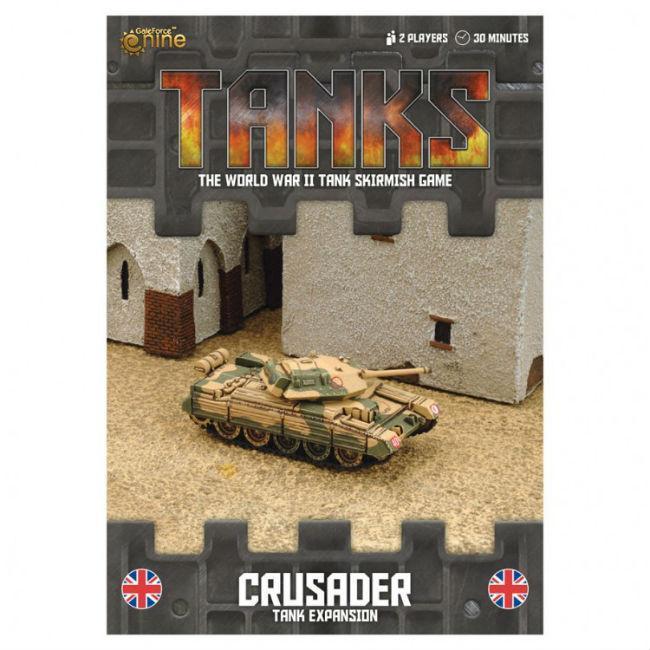 Tanks: Crusader Board Games