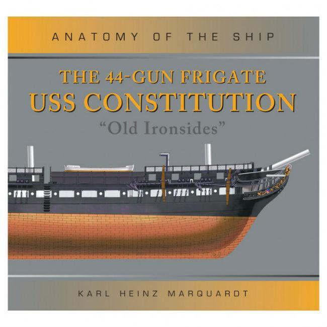The 44-Gun Frigate USS Constitution