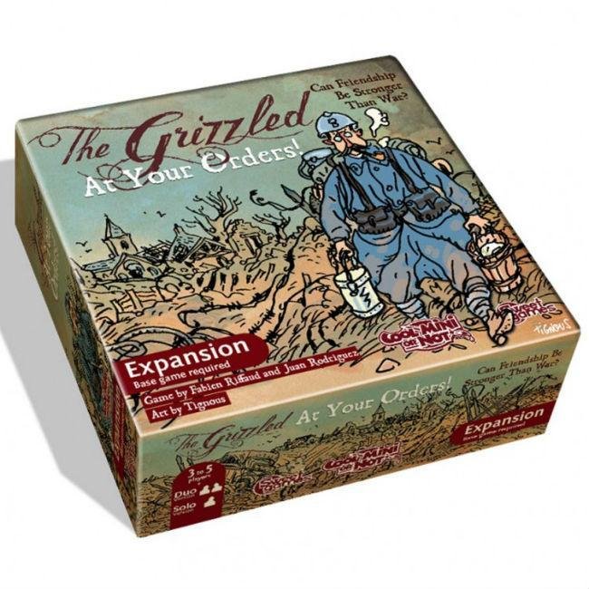 The Grizzled At Your Orders Card Game