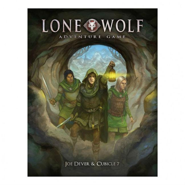 The Lone Wolf Adventure Game Boxed Set Board Game Cubicle 7 Entertainment Ltd.