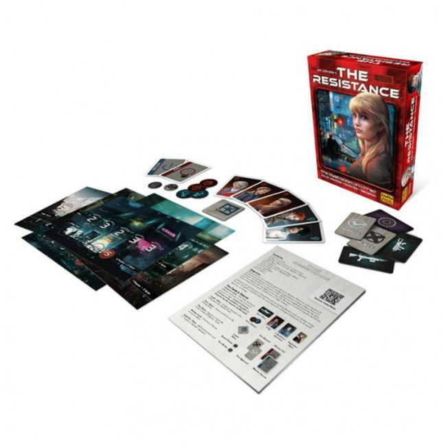 The Resistance 3rd Edition Card Game Indie Boards and Cards