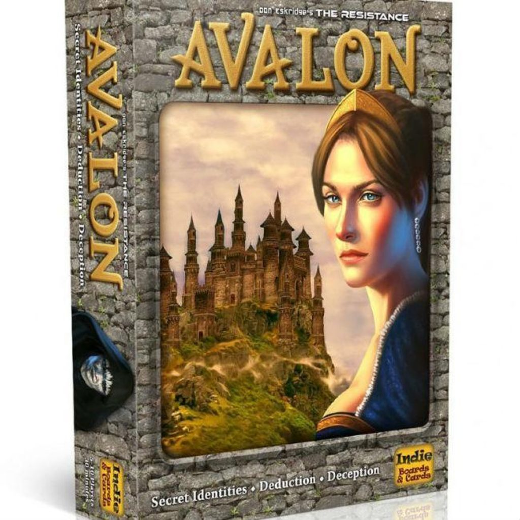The Resistance Avalon Small board game