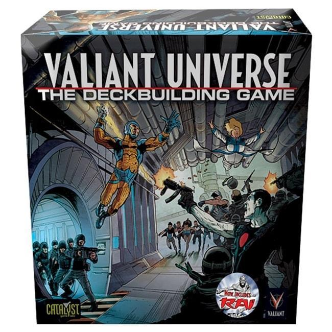 The Valiant Universe Deck Building Game