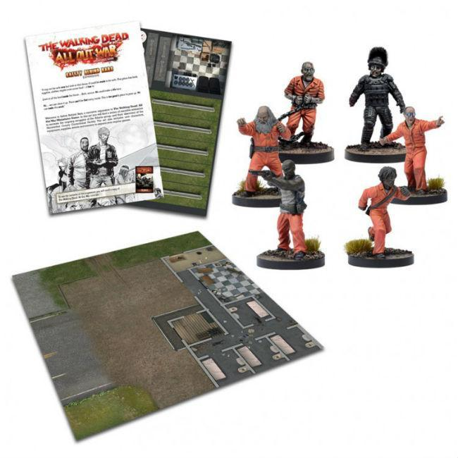 The Walking Dead Safety Behind Bars Expansion