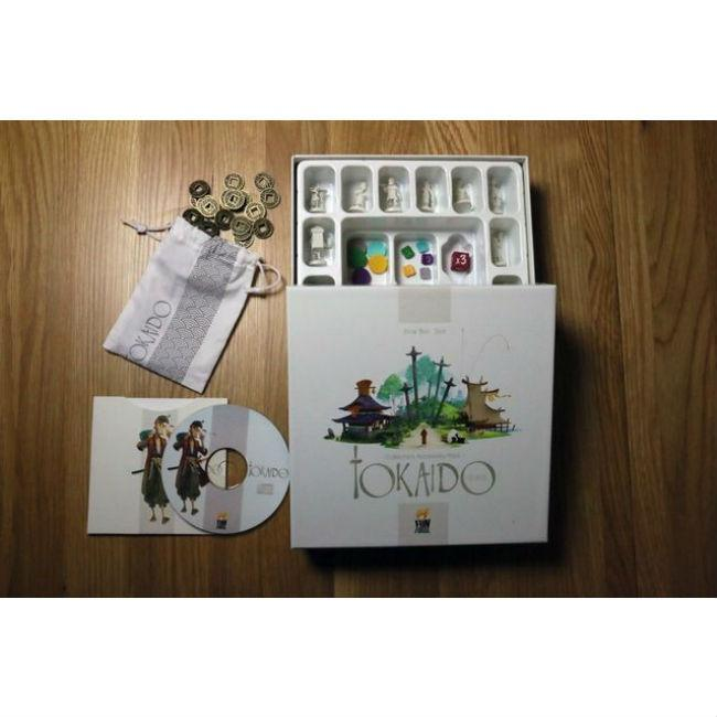 Tokaido Metal Coins Accessory Pack Board Game Passport Game Studios