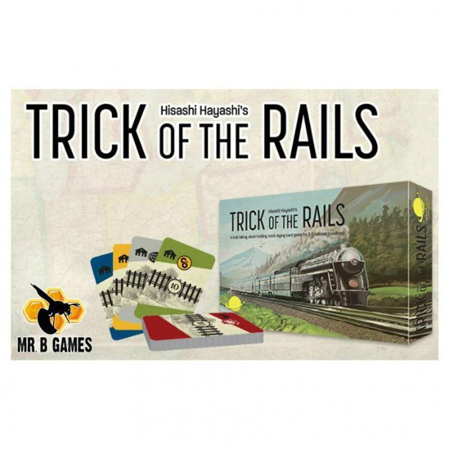 Trick of the Rails Card Game Mr. B. Games