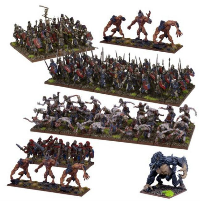 Undead Army (2nd Edition) Miniatures Mantic Entertainment Ltd.
