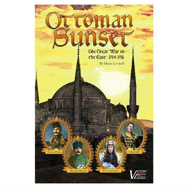 Victory Point: Ottoman Sunset 1918 Solitaire Board Game Board Game Victory Point Games