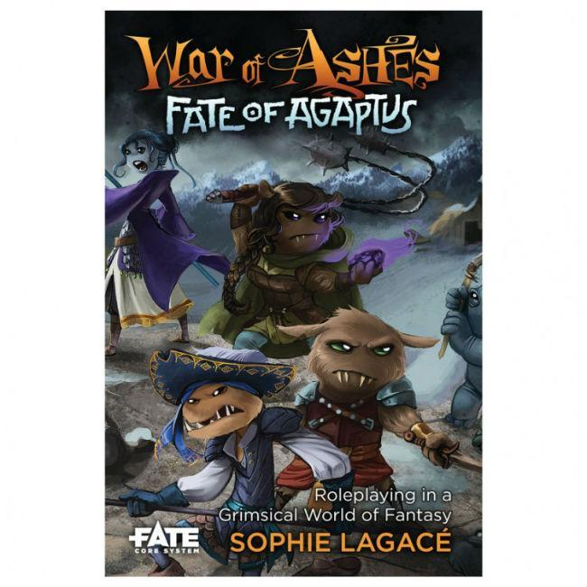 War of Ashes Fate of Agaptus
