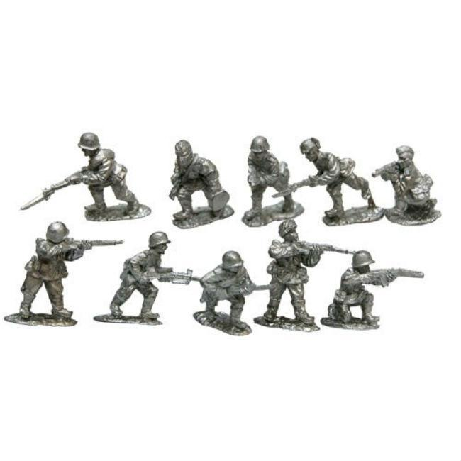Warfighter WWII Expansion 17 Russia Metal Soldier