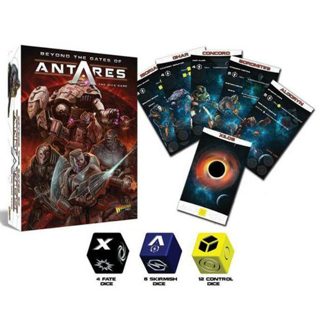 Warlord: Beyond the Gates of Antares, Dice Game