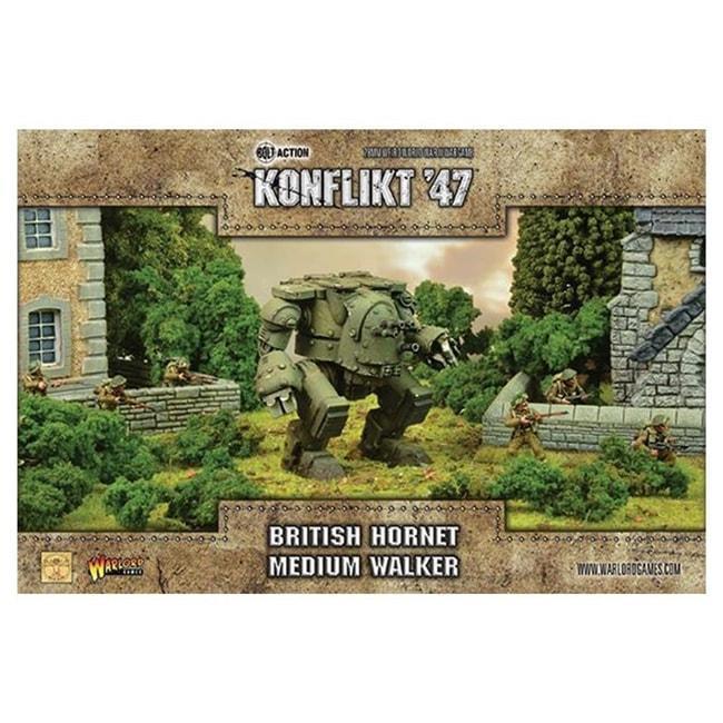 Warlord Games Konflikt 47 GB Hornet Medium Walker WGK-452410607 Miniatures Warlord Games