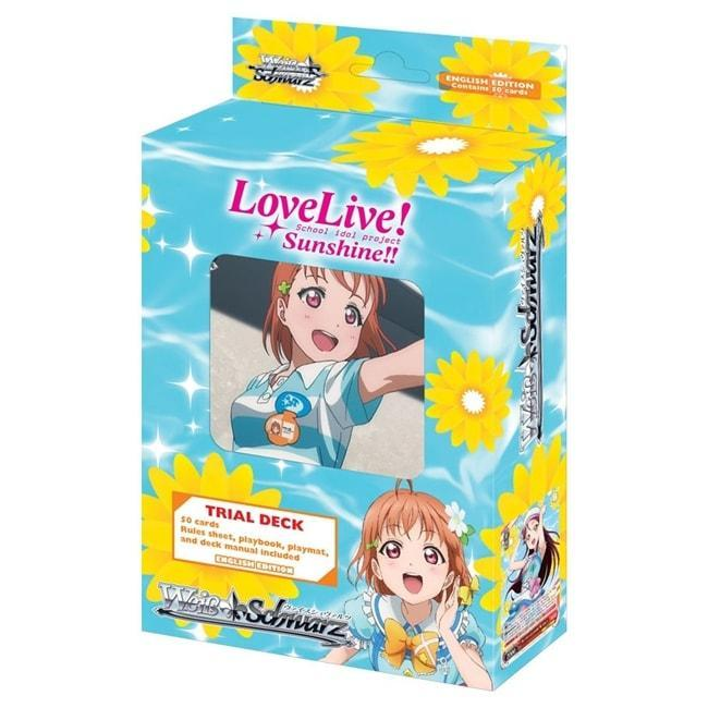 Weiss Schwarz LOVE LIVE! SUNSHINE!! Trial Deck English Collectible Card Game Bushiroad