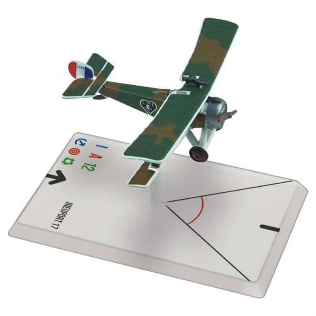 WG: WWI: Nieuport 17 (Nungesser) Miniatures Ares Games