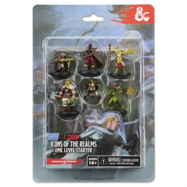 WizKids: D&D Icons of the Realms Epic Level Starter, Miniatures