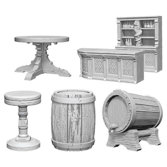 WizKids: Pathfinder Rusty Dragon Bar, Miniatures
