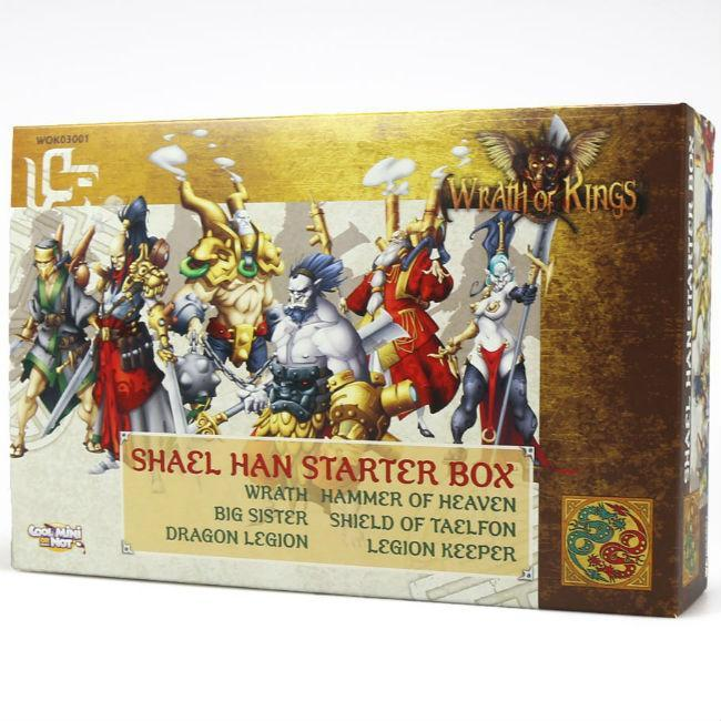 Wrath of Kings: Shael Han Starter Box