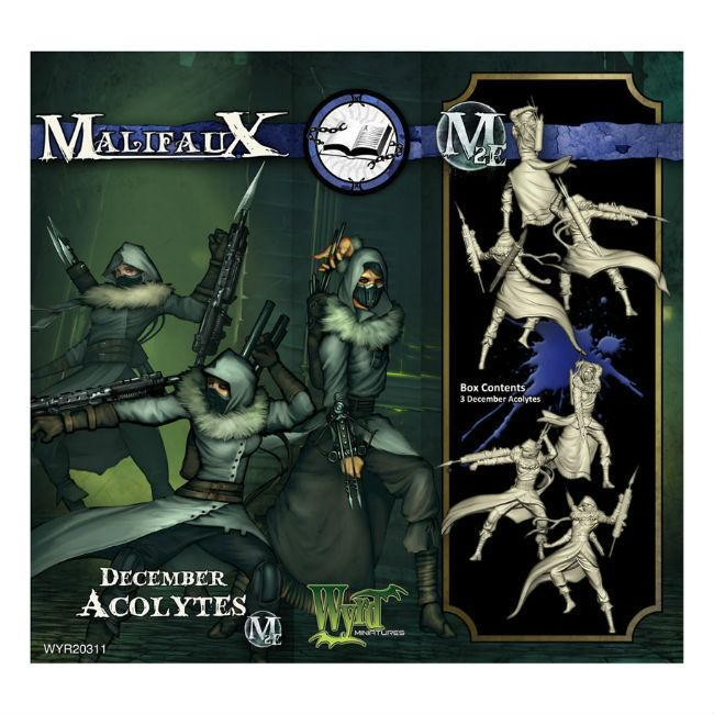 Wyrd  Malifaux Arcanists December Acolyte Miniatures