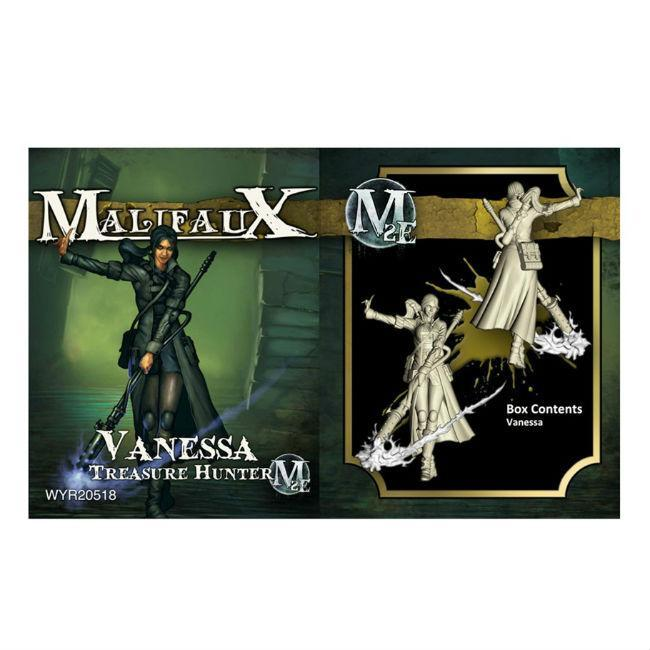 Wyrd: Malifaux Vanessa, Treasure Hunter M2E Miniatures