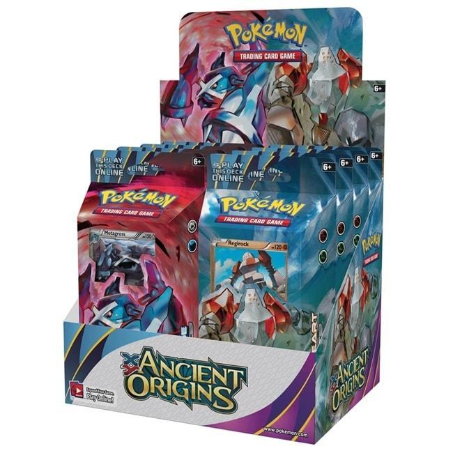 XY - Ancient Origins Theme Deck Display Box SW Collectible Card Game The Pok̩mon Company Int'l