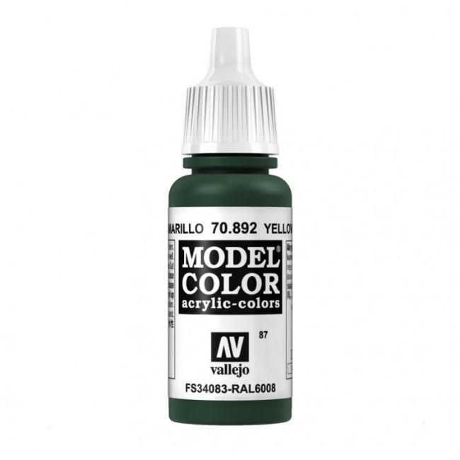 Yellow Olive Model Color Paint, 17ml