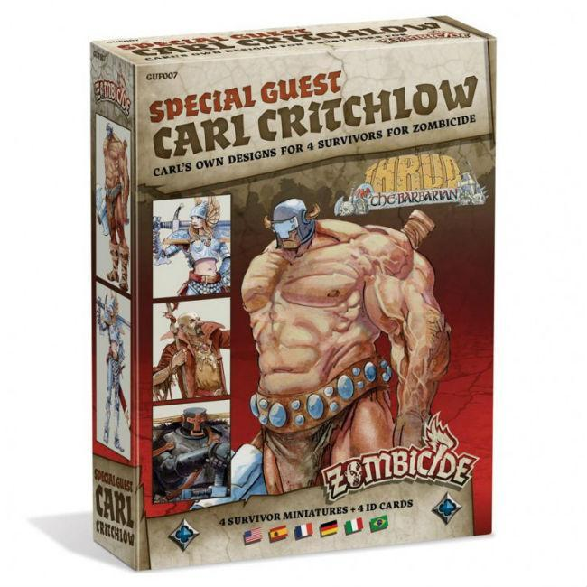 Zombicide: BP: SG: Carl Critchlow Board Game CMON