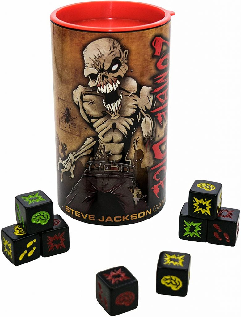 Zombie Dice Small Dice Game