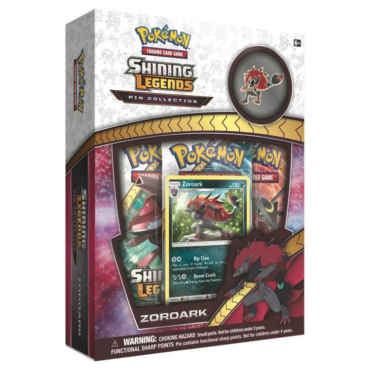 Zoroark Pin Box of Collectible Cards