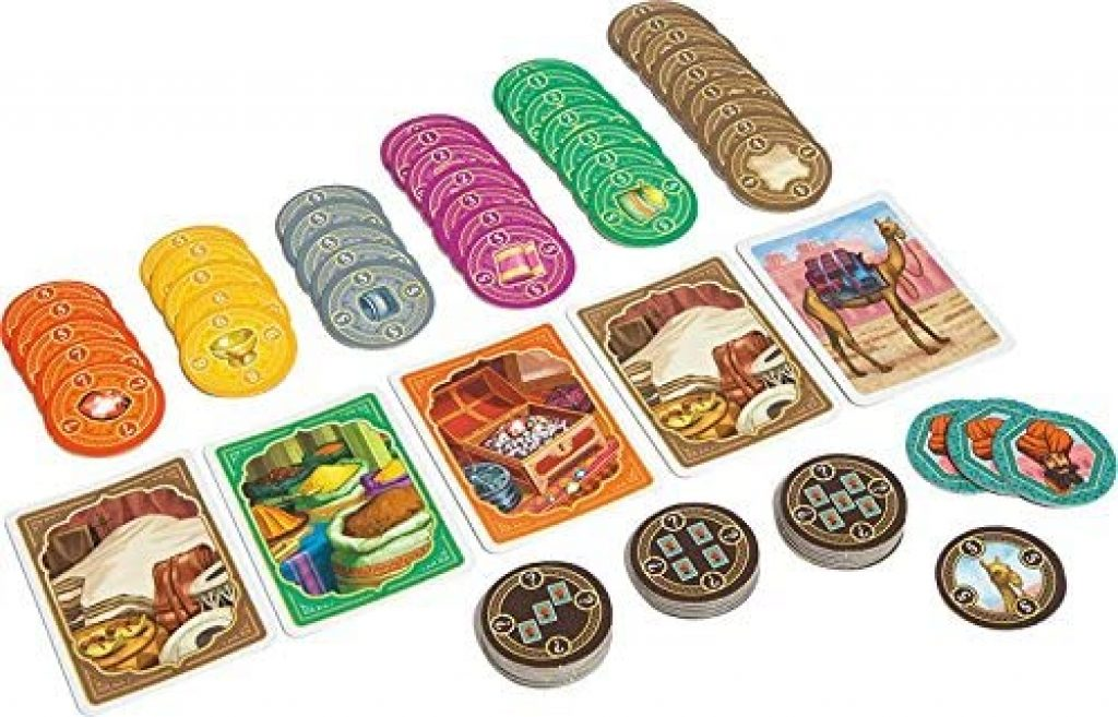 Jaipur Game pieces