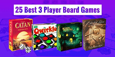 25 Best 3 Player Board Games