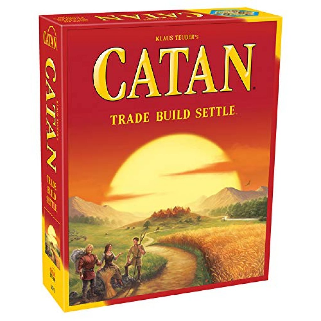 Settlers of Catan Board Game for families