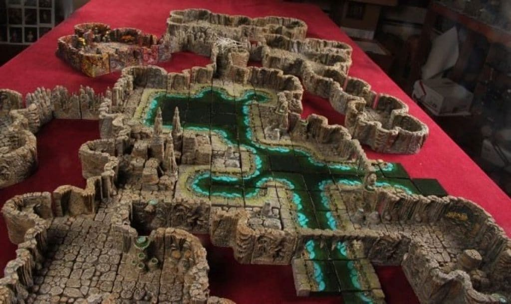 Dwarven Forge Miniature Game Set