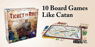 10 Board Games Like Catan