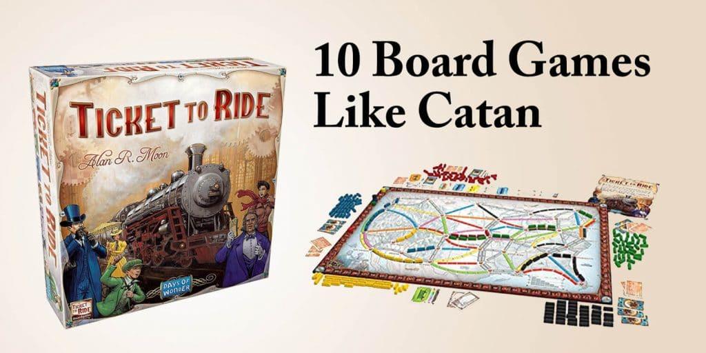 10 Board Games like Catan