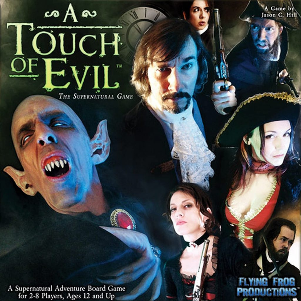 A Touch of Evil Spooky Board Game