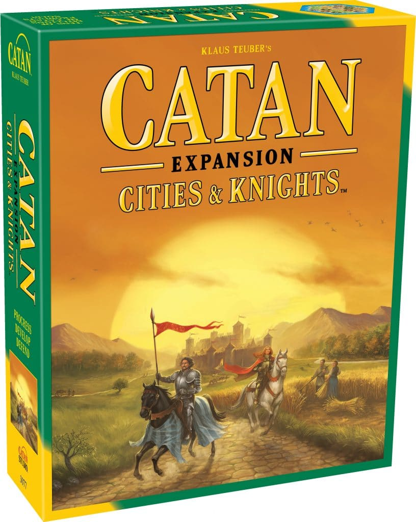 Catan Expansion Cities and Knights