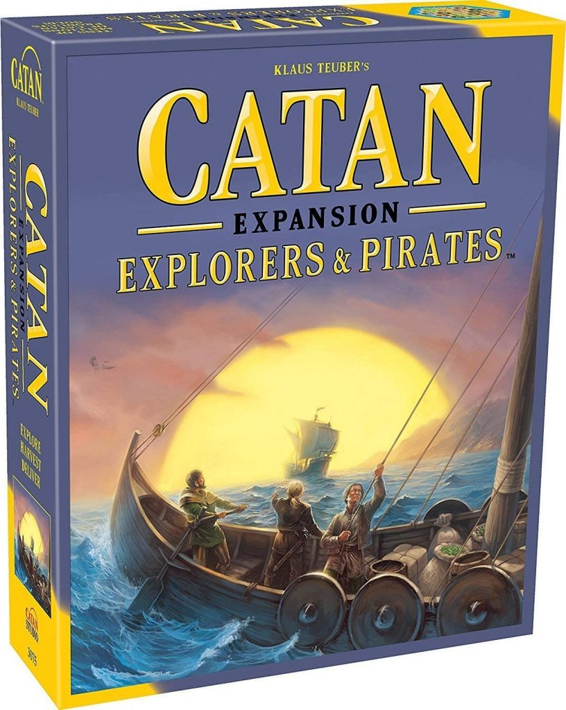 Catan Expansion Explorers and Pirates