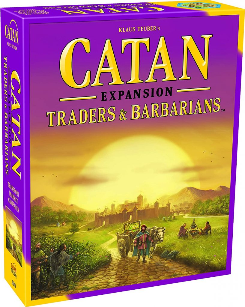 Catan Expansion Traders and Barbarians