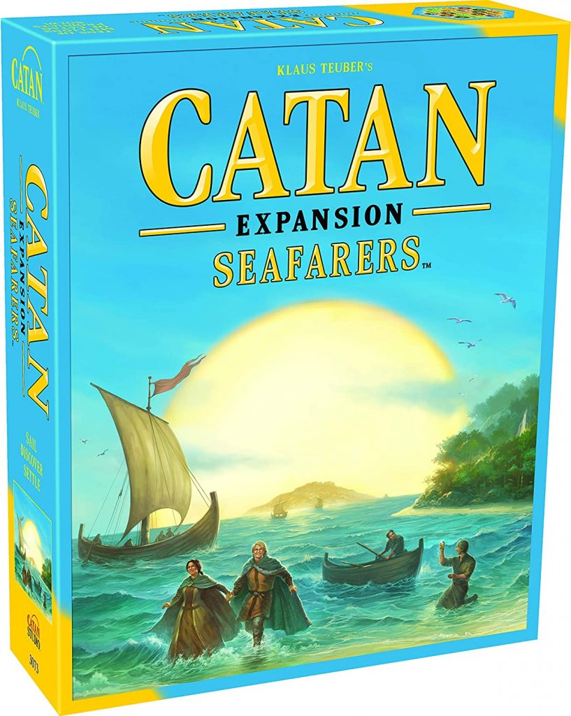 Seafarers Catan Expansion Pack
