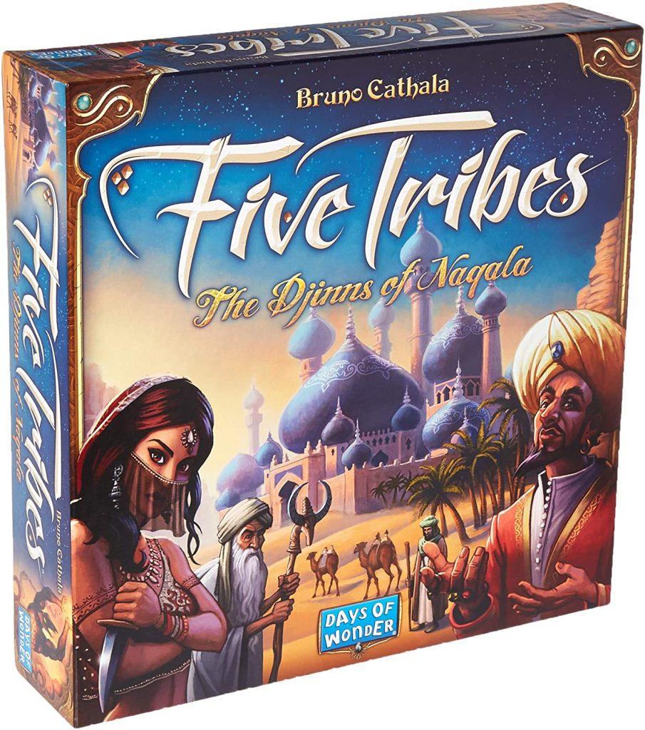 Five Tribes Board Game Tabletop Season 3