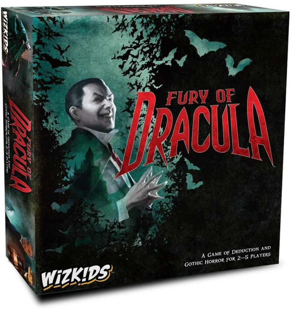 Fury of Dracula Scary Board Game